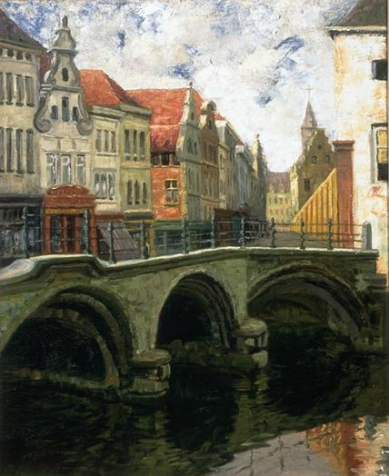 Dyle Bridge at Mechelen, Belgium