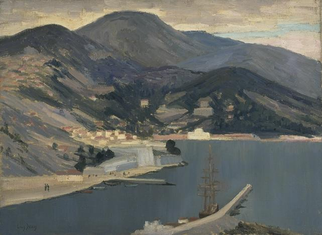 The Port of Villefranche (Salon 1930)