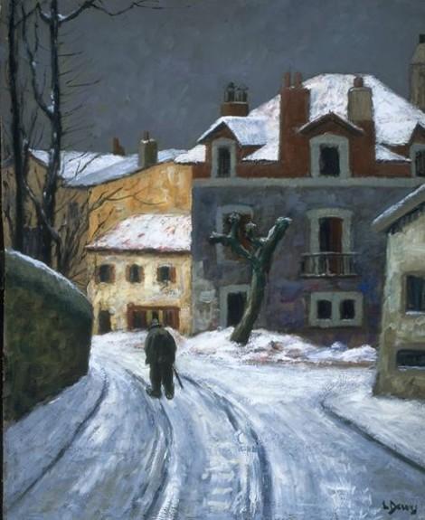 Snow in Biarritz