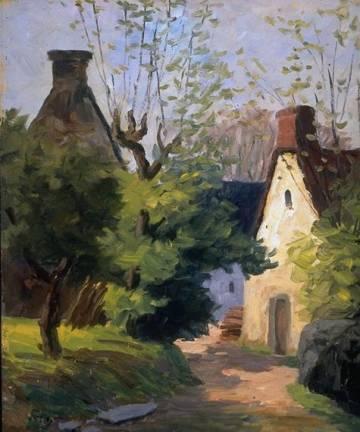 The Village Road – Auvergne